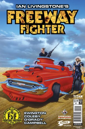 Freeway Fighter #1 (Jetpack/Forbidden Planet Variants)