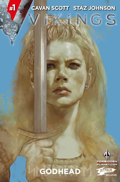Vikings #1 (Jetpack Comics/Forbidden Planet Variant)