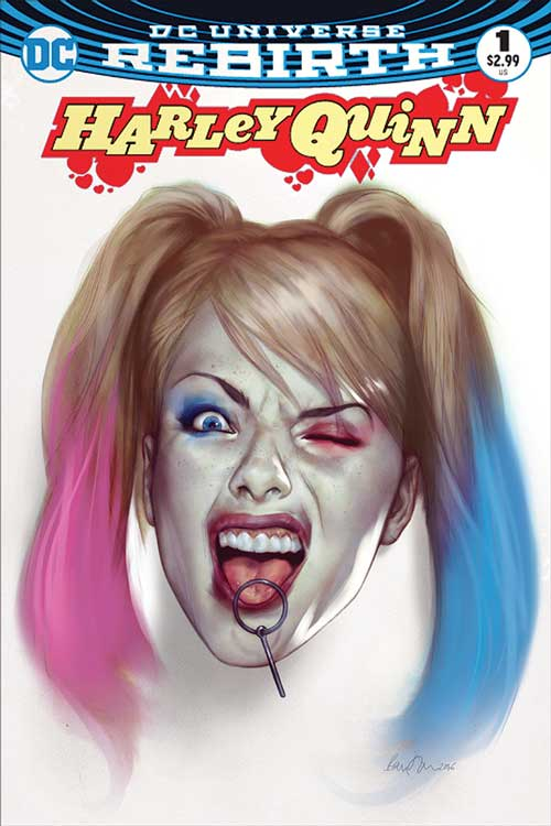 Harley Quinn #1 – Jetpack / Forbidden Planet Exclusive