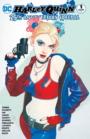 HARLEY QUINN 25th Anniversary #1 (Forbidden Planet Exclusive)