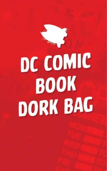 DC COMIC BOOK DORK BAG