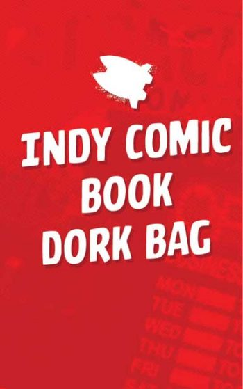 INDEPENDENT COMIC BOOK DORK BAG