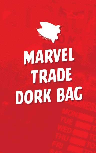 MARVEL TRADE & HC DORK BAG
