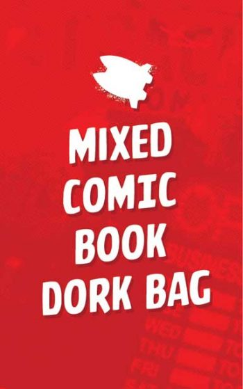 MIXED COMIC BOOK DORK BAG