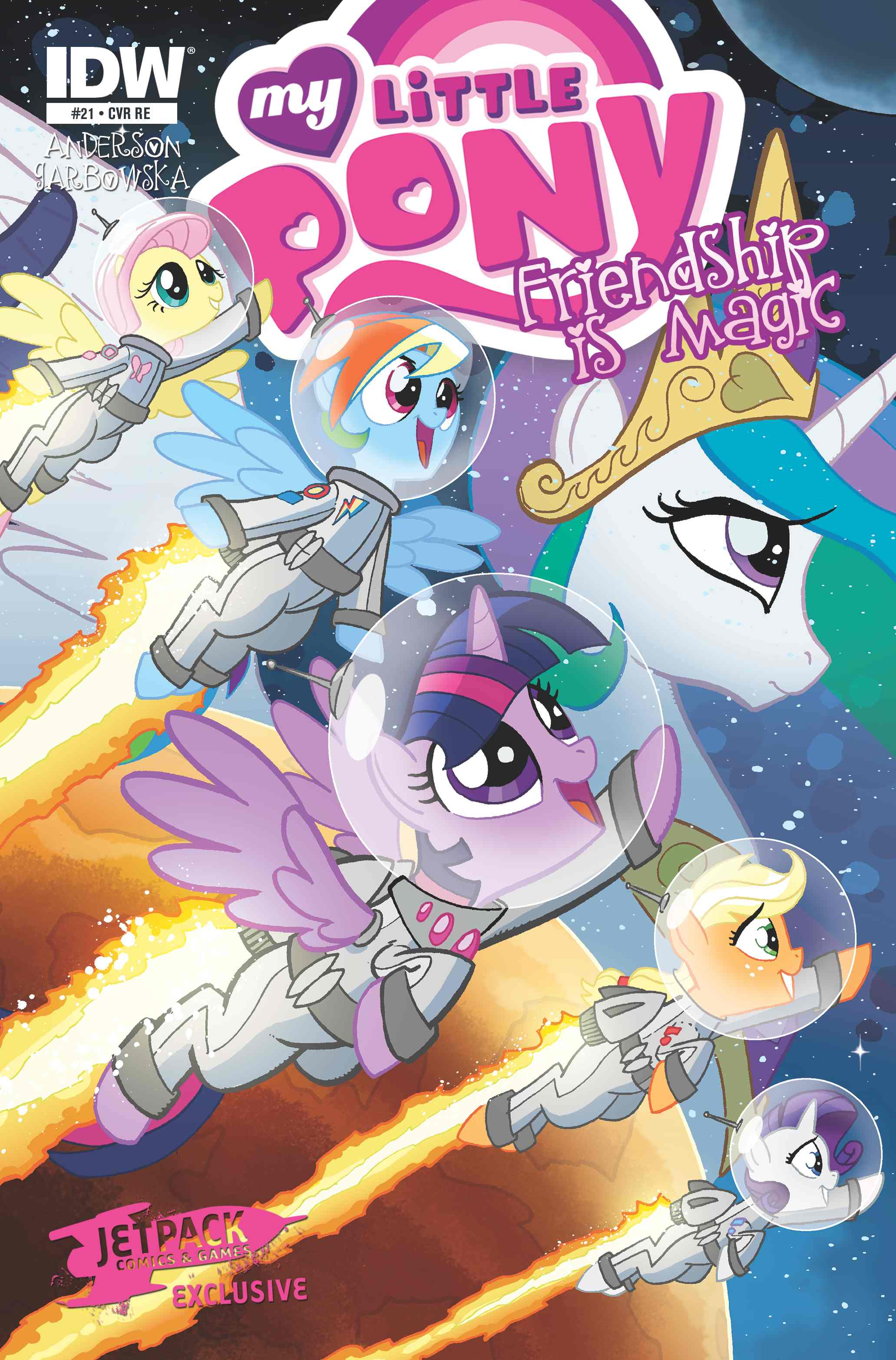 My Little Pony Friendship Is Magic #21 (Limited Edition Color Cover)