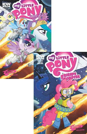 Grab The Pair: MLP FIM #21 & MLP FF #7 (Both Jetpack Exclusive)