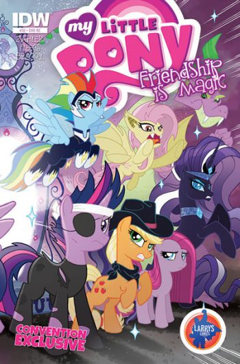 MY LITTLE PONY FIM #32 (LARRYÌ_Ì_åÈS COMICS CONVENTION VARIANT)