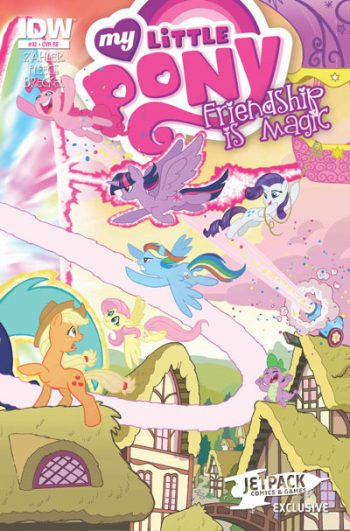 MY LITTLE PONY FIM #32 (JETPACK CONVENTION VARIANT)