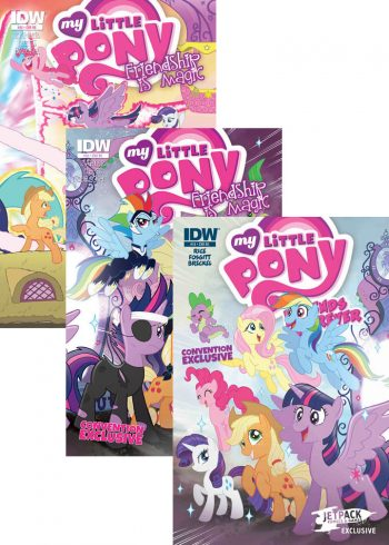 MY LITTLE PONY (CONVENTION BUNDLE)