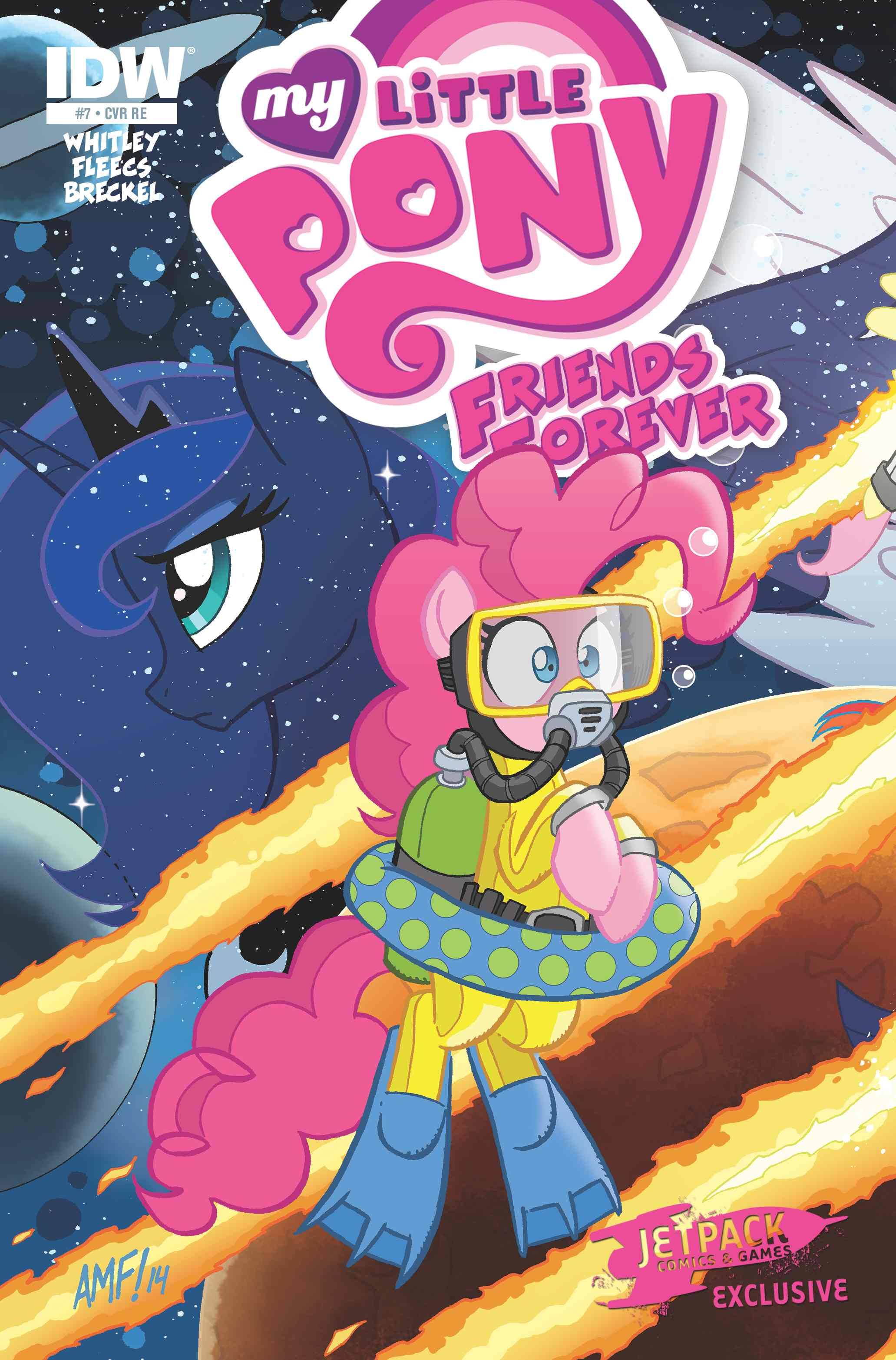 My Little Pony Friends Forever #7 (Limited Edition Color Cover)