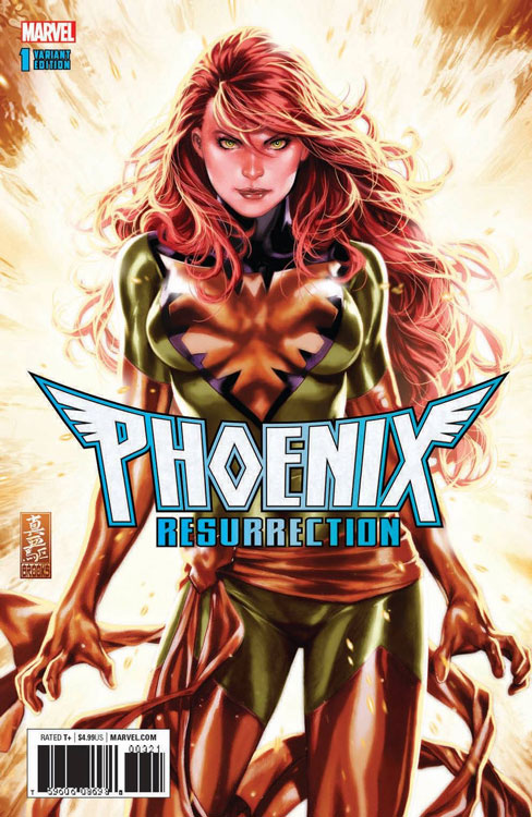 Phoenix Resurrection (Green Standard Mark Brooks Variant)