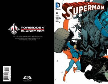 Superman #50 (Forbidden Planet /Jetpack Exclusive)