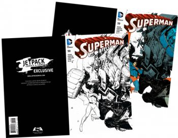 Pair Of Superman #50 (Forbidden Planet/Jetpack Exclusives)