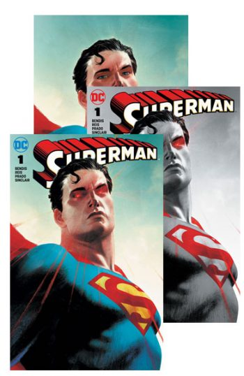 Superman #1 (A B C Forbidden Planet Jetpack Comics Josh Middleton Exclusive)