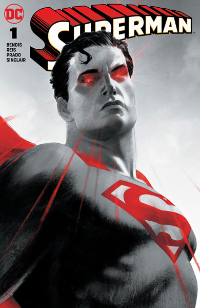 Superman #1 (B Forbidden Planet Jetpack Comics Josh Middleton Exclusive)