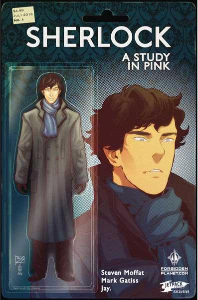 Sherlock: A Study In Pink #1 (Forbidden Planet/Jetpack Comics Exclusive)