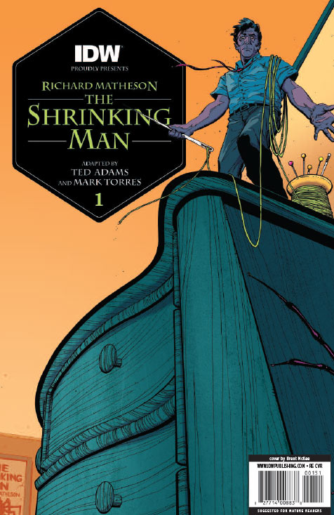 The Incredible Shrinking Man #1 (Jetpack Exclusive)