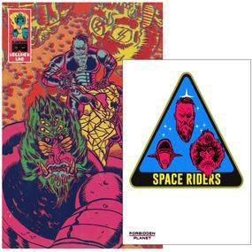 Space Riders Vol. 1 Jetpack Comics/Forbidden Planet Exclusive Variant