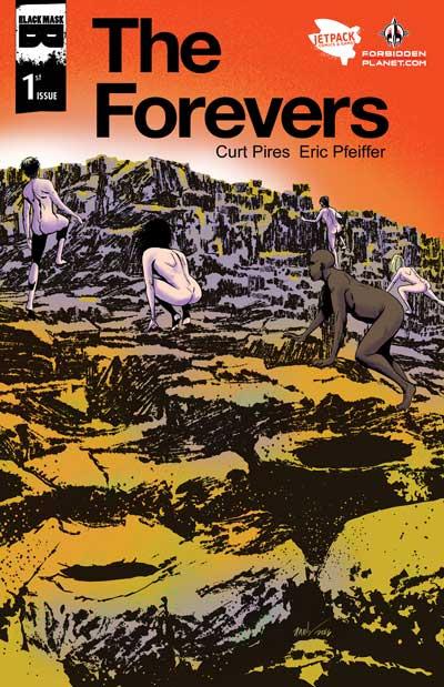 The Forevers (Jetpack Comics/Forbidden Planet Variant)