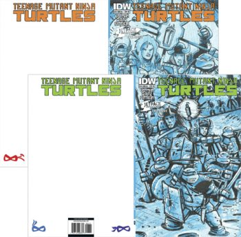 TMNT 2014 ANNUALS (PAIR OF JETPACK EXCLUSIVES)
