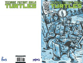 TMNT 2014 ANNUAL (JETPACK EXCLUSIVE GREEN LOGO)