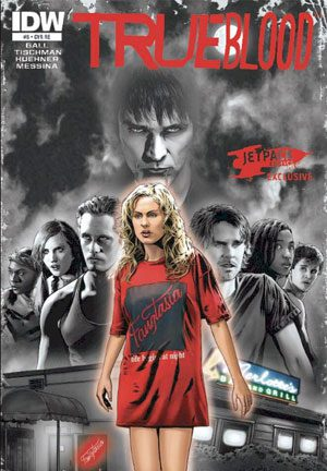 True Blood #5 Jetpack Exclusive
