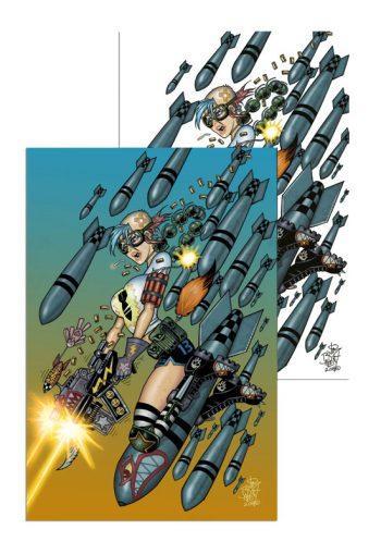 TANK GIRL ALL-STARS #1 (Jim Balent Jetpack Comics Exclusive PAIR)