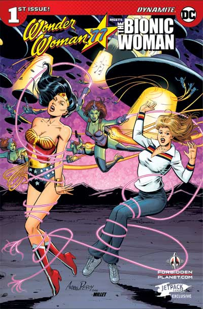 Wonder Woman Bionic Woman #1 (JP/FP Exclusive)