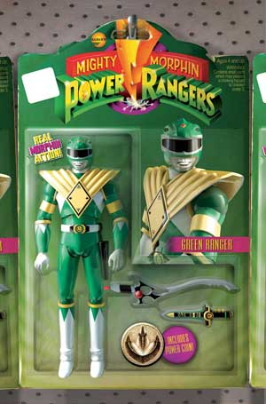 Power Rangers #1 (Action Figure Variant)
