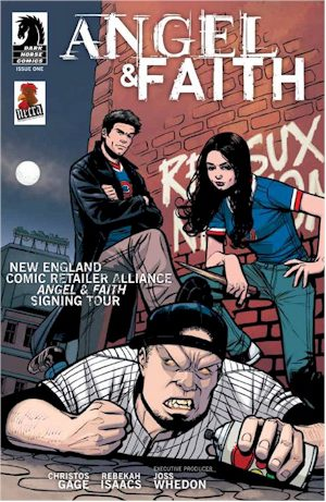 ANGEL & Faith #1 NECRA Exclusive