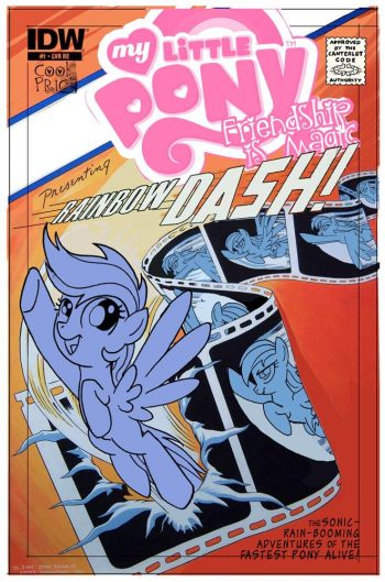MY LITTLE PONY #25 (SHOWCASE #4 FLASH Homage Cover)