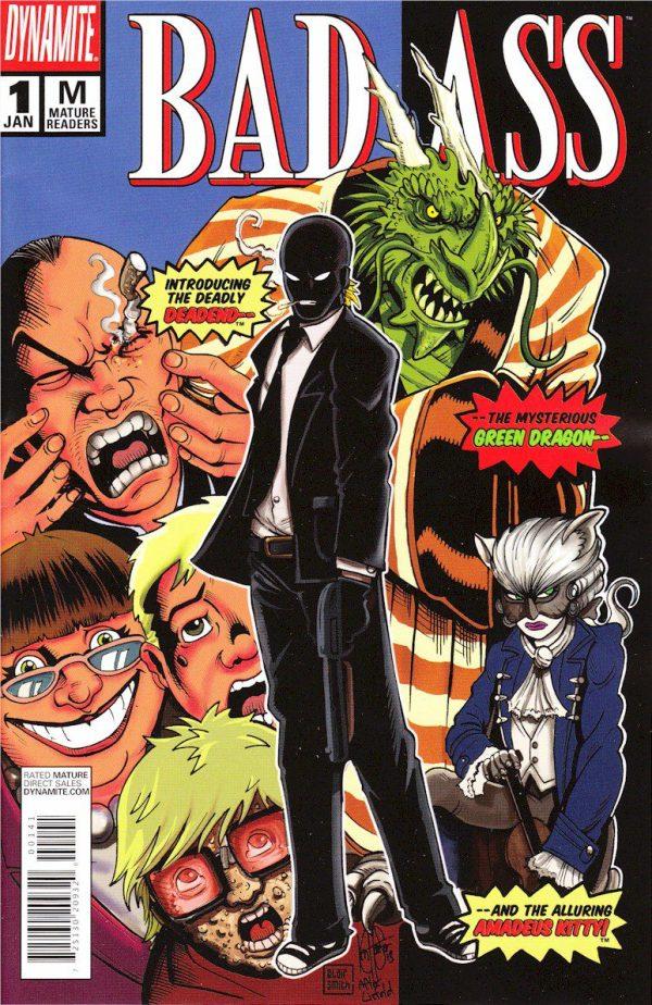 Bad Ass #1 (The New Mutants #98 Deadpool Variant )