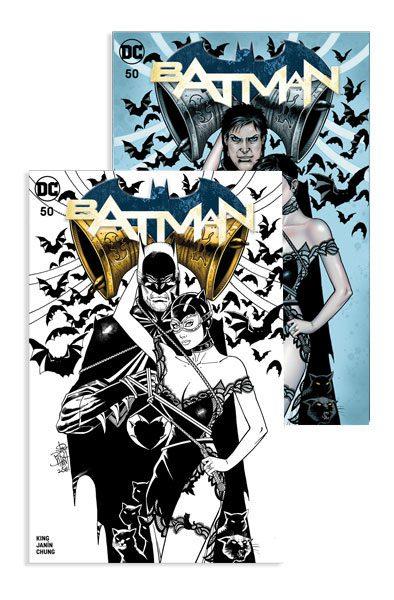 BATMAN #50 (JP / FP BALENT A, B COVER)