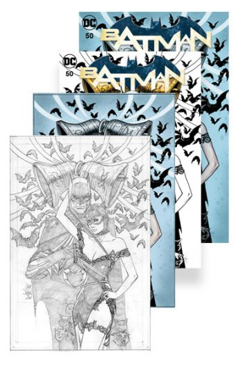 BATMAN #50 (JP / FP BALENT A, B, C, D COVERS)