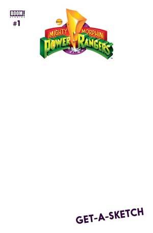 Power Rangers #1 (Blank Variant)