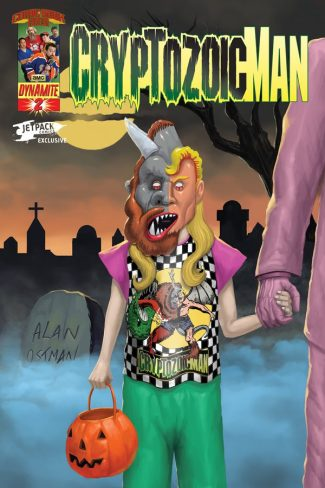 Cryptozoic Man #2 (Jetpack Comics Edition)