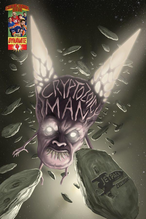 CRYPTOZOIC MAN #4 (Jetpack Edition)