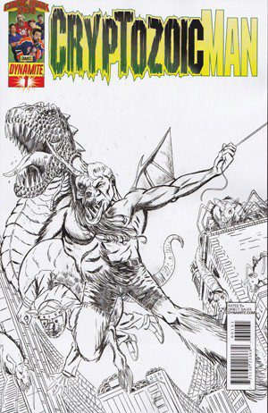 Cryptozic Man #1 (Limited Edition Sketch Cover)