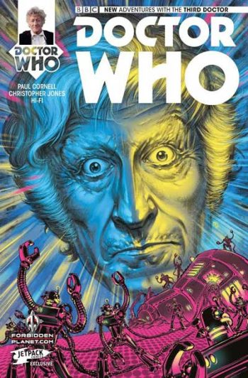 Doctor Who The Third Doctor #1 (Jetpack Comics/Forbidden Planet Variant)