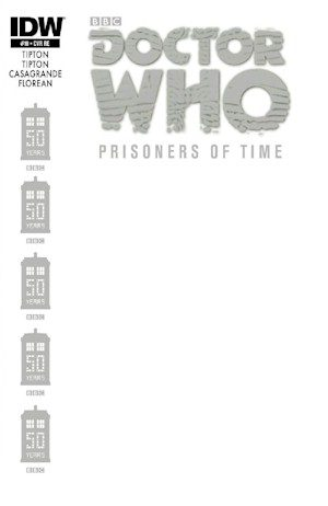 Doctor Who Prisoners Of Time #10 Blank Jetpack Exclusive