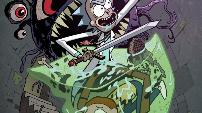 Rick And Morty Vs Dungeons And Dragons #1