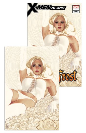 EMMA FROST X-MEN BLACK (ADAM HUGHES VARIANT PAIR)