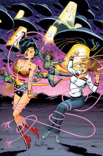 Wonder Woman Bionic Woman #1 Virgin Cover (JP/FP Exclusive)