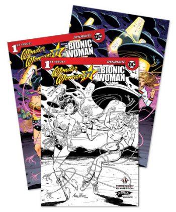 Wonder Woman Bionic Woman #1 3-pack (JP/FP Exclusive)