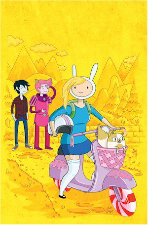 Adventure Time Fionna & Cake #6 Phantom Virgin Exclusive