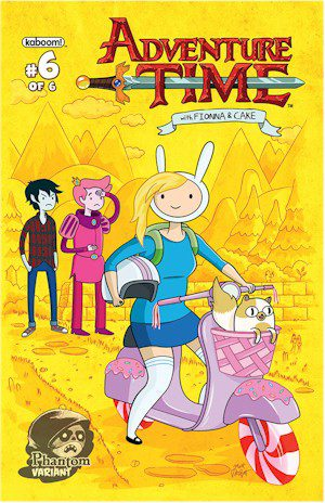 Adventure Time Fionna & #6 Phantom Edition