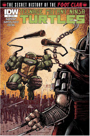 TMNT History Of The Foot Clan #4 Jetpack Exclusive