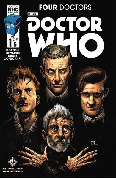 Four Doctors #1 (Forbidden Planet Variant)