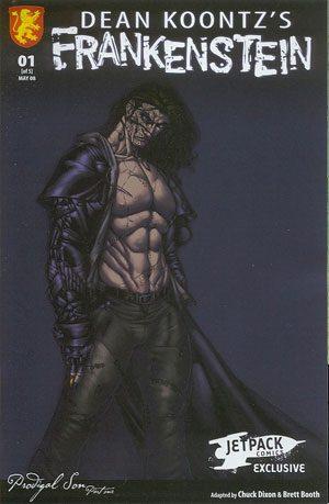 DK's Frankenstein #1 Jetpack Comics Exclusive