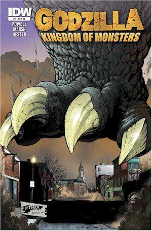 GODZILLA #1: Rochester Under Siege